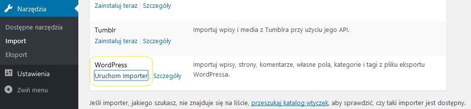 uruchom_importer